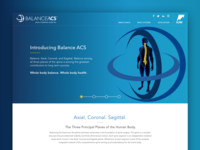 Balance ACS Landing Page