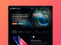 SeaChange Homepage - Alternate Concept