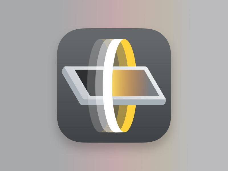 Video Scanner App Icon Simplified By Joe Dearman Dribbble