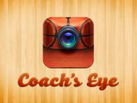 Coach's Eye March Madness Basketball Icon icon design iphone basketball ios