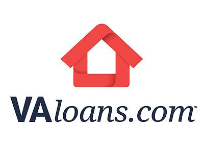 VALoans.Com Logo web logo va loans first shot logo