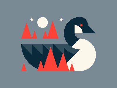 Goose geese are jerks bird flat simple goose