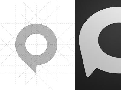 Mark logo mark illustrator brand guides circle pin