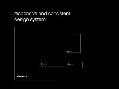 Dreevo   Brand Consistency logodesign logos branding and identity brand identity branding design logo brand flat branding ux typography ui minimal clean design