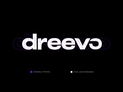 Dreevo | Logotype breakdown shipment shipping details logo designer logodesign logotypedesign logotype vector logo branding typography minimal clean design