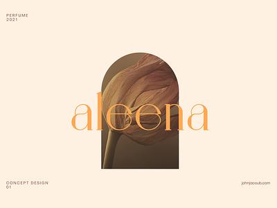 Aleena | Concept branding logo design concept logo designer logo design logo mobile flat brand illustration branding typography concept minimal clean design