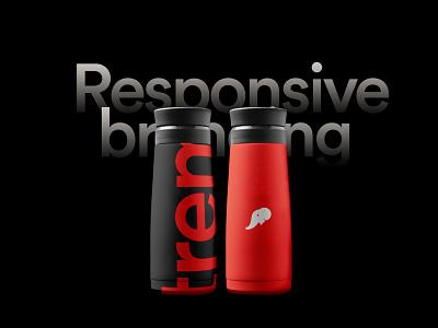 tremendous   Bottle design logo design logo design branding brand identity logo designer logodesign flat logo brand illustration branding typography concept minimal clean design