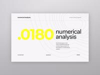 Numerical Analysis Light Mode