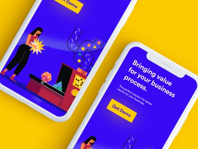 Mobile Landing Page Concept