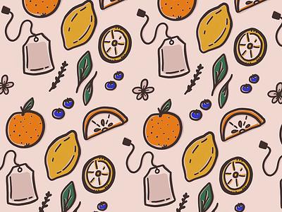 Fresh Start fruit objects sketchbook ipad art procreate ipad pro illustration