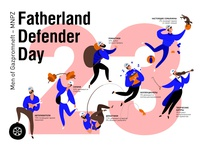 Fatherland Defender Day Poster
