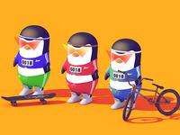 QQ penguin run