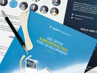 Subcontracted Web Development — Marketing Brochure