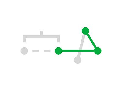 measure scale distance measure illustrator illustration line graph points svg vector icon