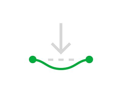 innovate path edit spline illustrator illustration line graph points svg vector icon