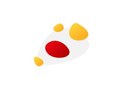 scrapGFX.exe design abstract illustrator yellow red illustration egg