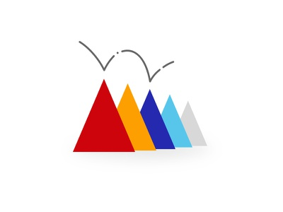 ~ logo design graphic triangle sketch illustrator illustration