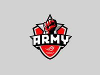 ASUS ROG Army mascot logo