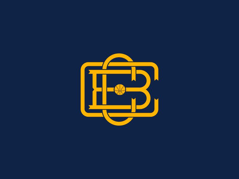 CBCornellà Monogram Logo branding basketball cbc logotype logo monogram