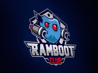 Ramboot Club - Mascot logo design