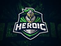 Heroic GG - Mascot logo