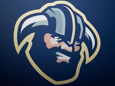 Viking Mascot logo FOR SALE branding design graphic sport sale for viking loog mascot