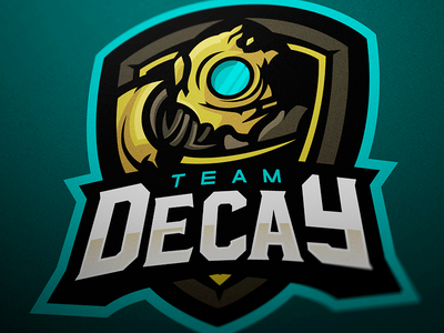 Team Decay - Mascot logo branding magic esports sports logo logotype logo mascot logo
