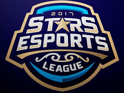 Stars Esports League - Mascot logo logo mascot league esports stars