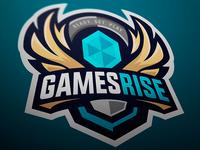 Games Rise sport logo