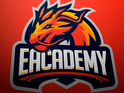 Ecademy Mascot Logo sports logo mascot logo logotype logo esports branding
