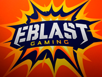 Eblast Gaming Logo Design