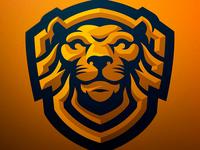 Lionshield Mascot Logo