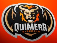 Quimera Esports Mascot Logo