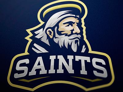 Saint mascot logo designer jellybrush illustrator graphic mascotlogo e-sports vector sport design sports logo mascot logo mascot esports branding logotype logo