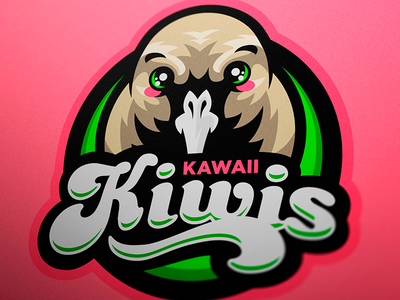 Kiwi (bird) inspired mascot logo graphic illustrator mascotlogo vector sport design sports logo mascot logo mascot esports branding logotype logo