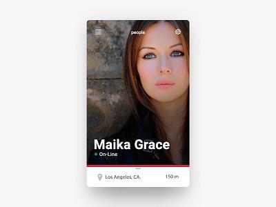 user profile android ios mobile app ux ui profile user