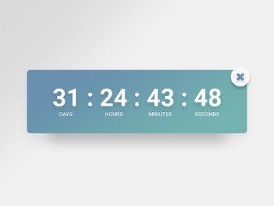 Countdown Timer web android ios minimal mobile app countdown timer