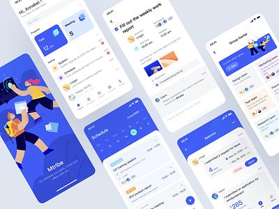 Mtribe  app mobile ui app ux ui design