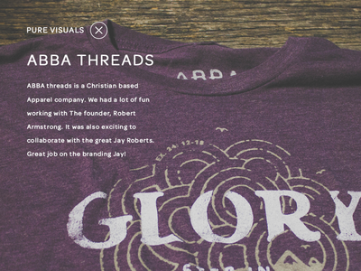 Abba Threads Portfolio
