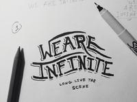 We are infinite process