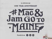 Mac & Jam Go To Maine