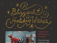 Nova holiday email