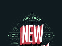 Christmas eve service poster full