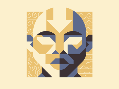 AANG avatar fire earth water air elements elemental icons clean shapes simple aang