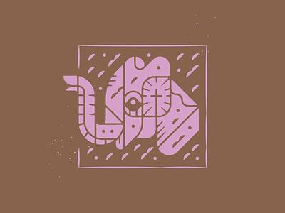 Forget not remember jesus church design church media church sermon graphic sermon series sermon art illustration illustrator elephant never forget
