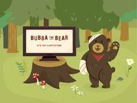 Folio bubba the bear