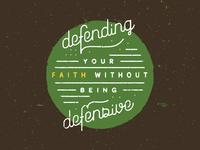 Defend Vs. Defensive