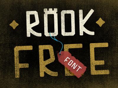 Free rook font