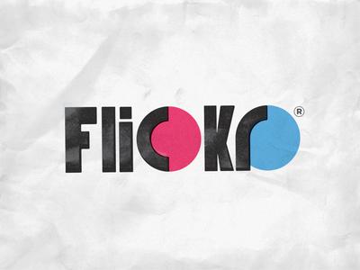 80s Flickr Logo