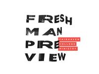 Freshman Preview